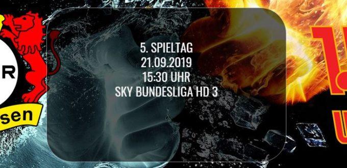 Fussball heute: Bundesliga Spiel zwischen Bayer Leverkusen und Union Berlin