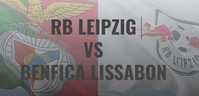 fussball heute - Champions League Benfica Lissabon - RB Leipzig
