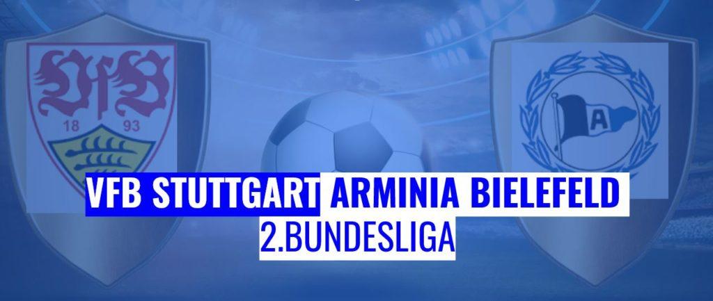 Fussball heute VfB Stuttgart vs Arminia Bielefeld