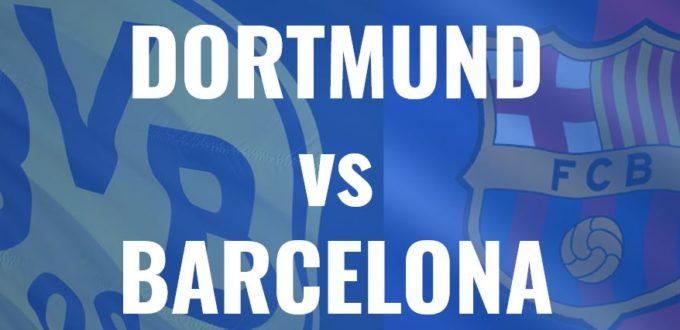 Fussball Heute - Champions League Dortmund gegen Barcelona