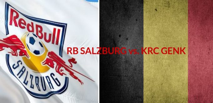 Fussball heute - Champions League -RB Salzburg gegen KRC Genk