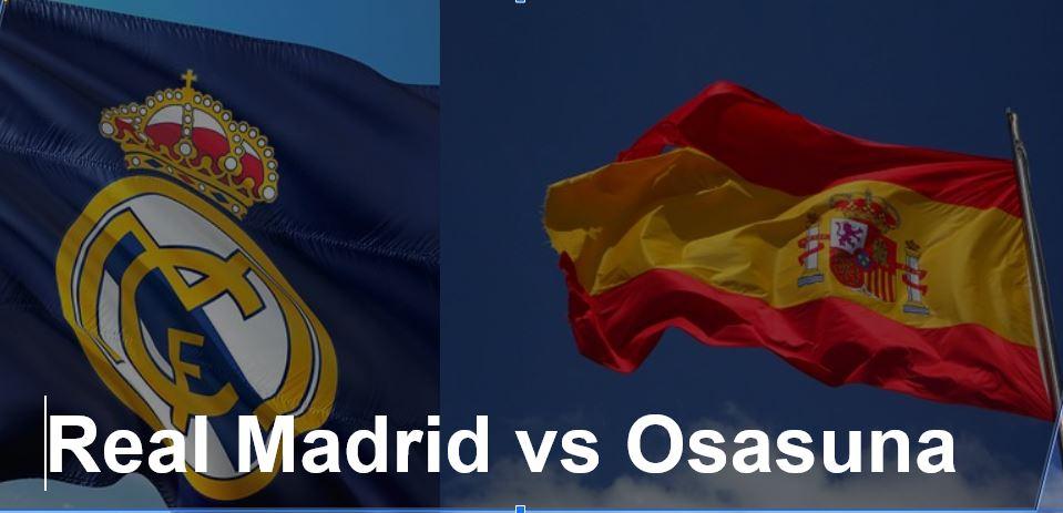 Fussball heute Real Madrid-Osasuna