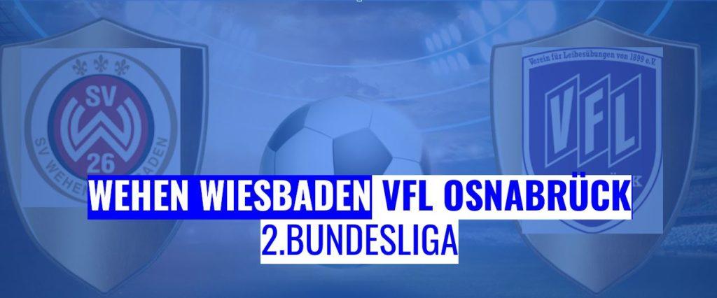 Fussball heute Wehen Wiesbaden vs VfL Osnabrück