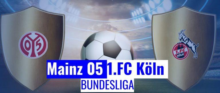 Meinz vs Köln Bundesliga