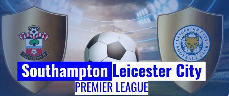 Southampton vs Leicester City Primiere League