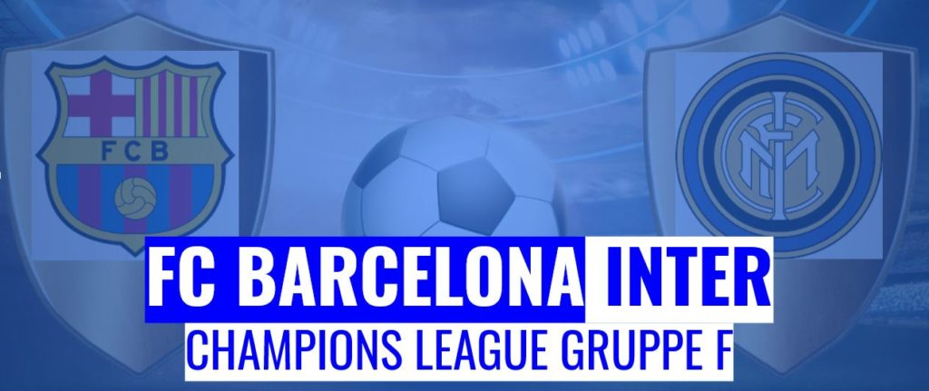 Fussball heute FC Barcelona vs Inter