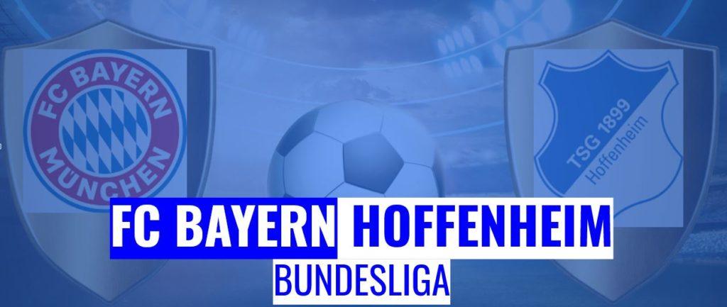 Fussball heute FC Bayern vs Hoffenheim