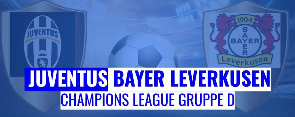 Fussball heute Juventus vs Leverkusen