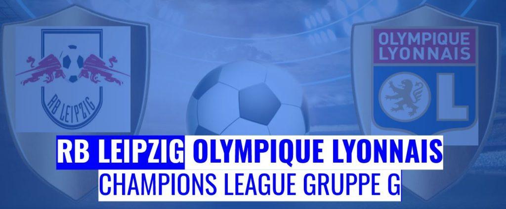 Fussball heute RB Leipzig vs Olympique Lyonnais
