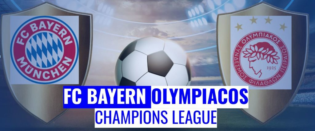 Fussball heute FC Bayern vs Olympiacos