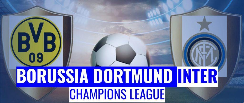 Fussball heute Borussia Dortmund vs Inter