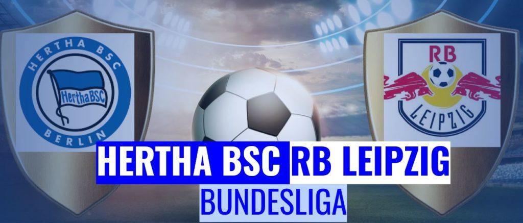 Fussball heute Hertha BSC vs RB Leipzig