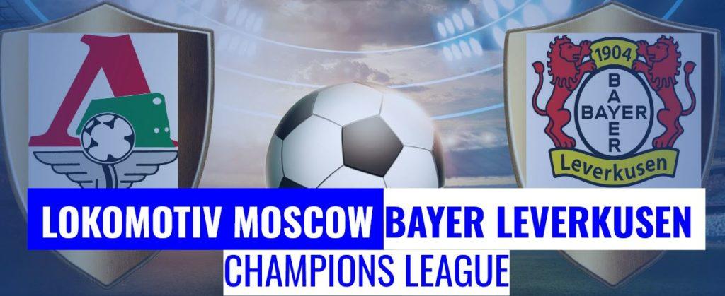 Fussball heute Moskau vs Leverkusen Champions League