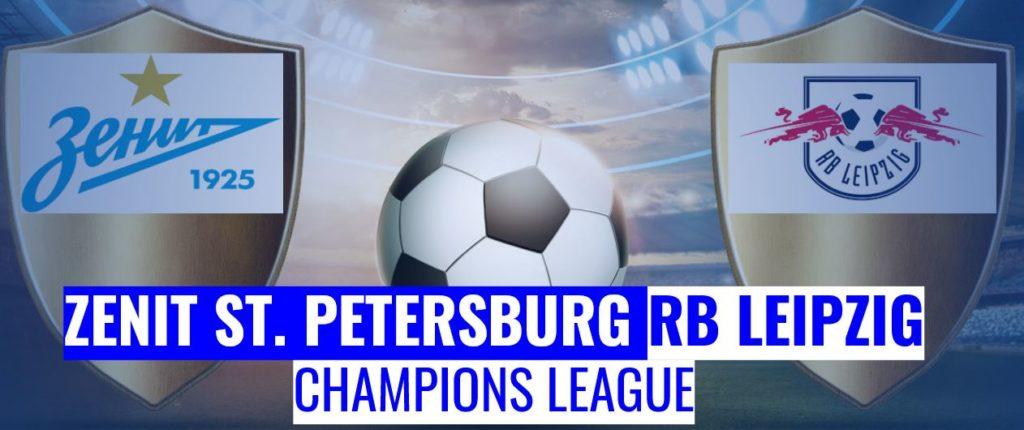 Fussball heute Zenit St. Petersburg vs RB Leipzig