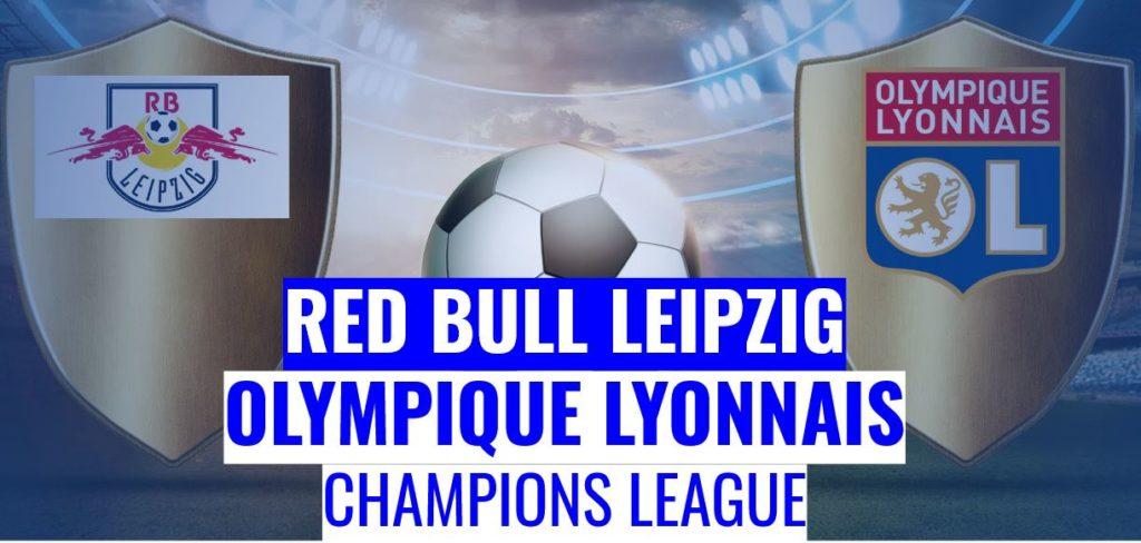 Fussball heute Red Bull Leipzig Lyon