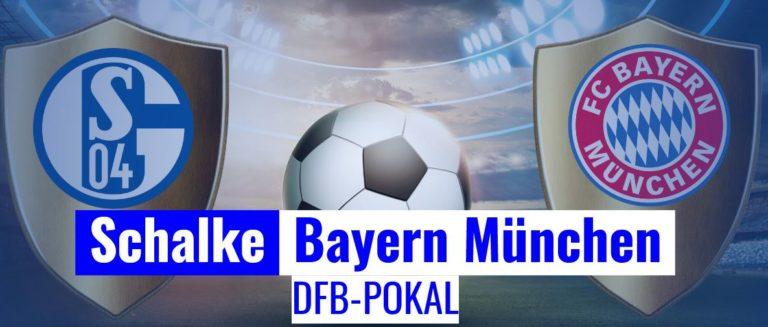 Fussball heute - DFB Pokal Schalke - Bayern München
