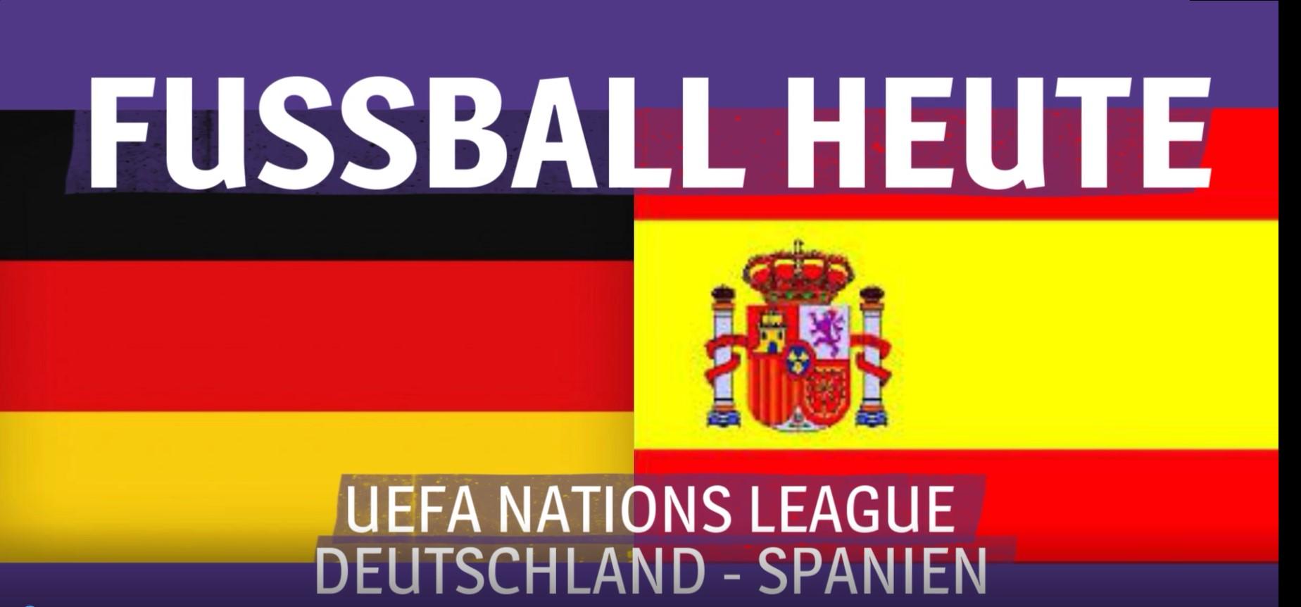 Deutschland Spanien Heute