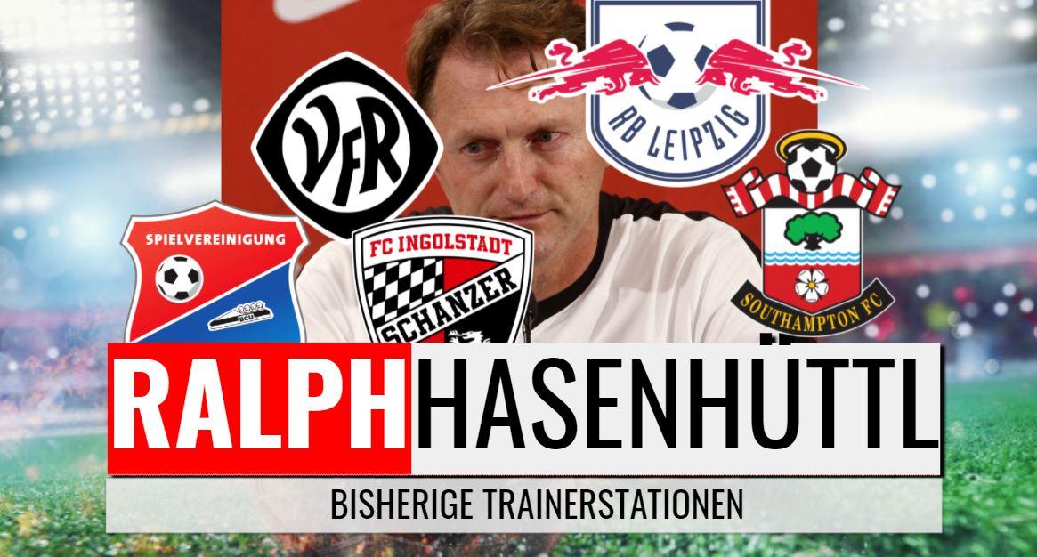 Ralph Hasenhüttl: bisherige Trainerstationen von 2004 bis 2021