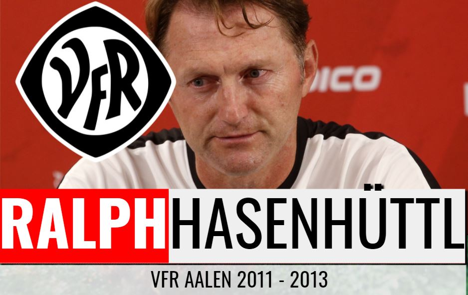 Ralph Hasenhüttls 2. Trainerstation:  VfR Aalen