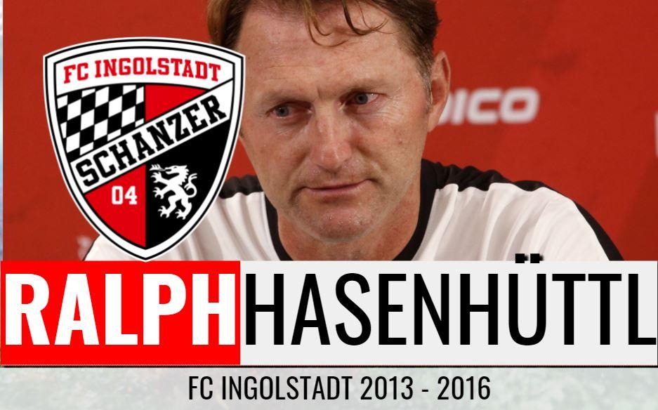 Ralph Hasenhüttls 3. Trainerstation: FC Ingolstadt