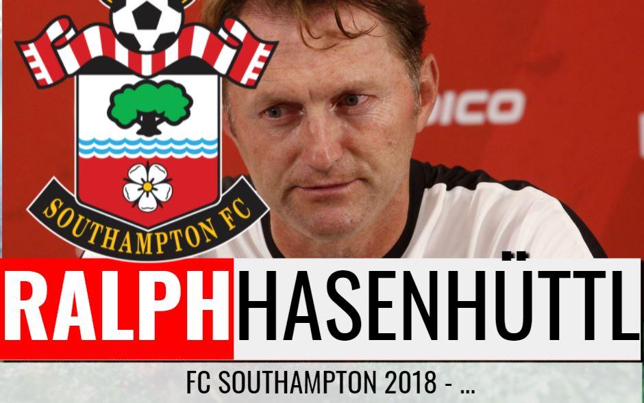 Ralph Hasenhüttls 5. Trainerstation: FC Southampton