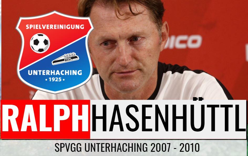 Ralph Hasenhüttls 1. Trainerstation: SpVgg Unterhaching