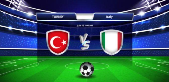 Fussball heute: Italien - Türkei [EM 2021]